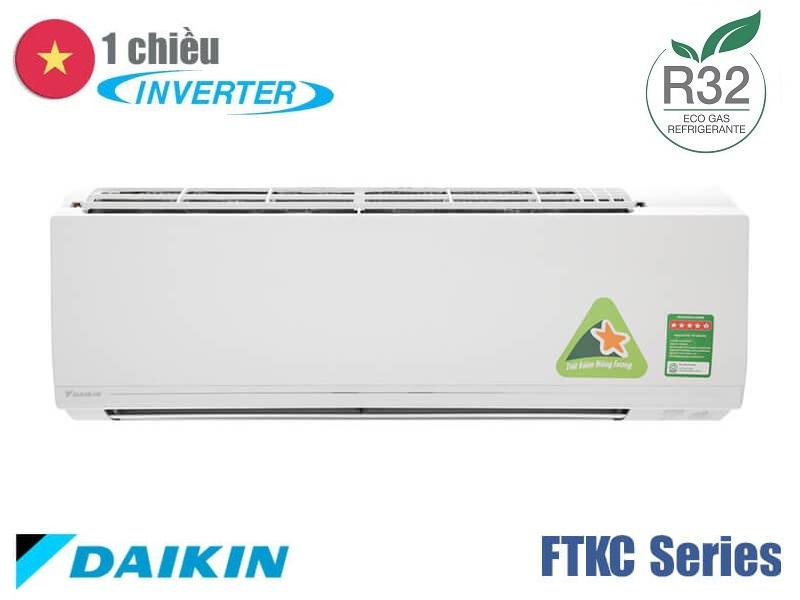 Daikin FTKC35UAVMV/RKC35UAVMV điều hòa Daikin 12.000 BTU 1 chiều inverter Coanda ga R32