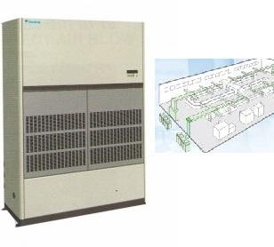 Daikin FVPG18BY1/RU18NY1 điều hòa Daikin tủ công nghiệp nối ống gió 180.000 BTU 1 chiều