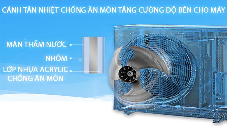 Cánh tản nhiệt chống ăn mòn - Máy lạnh Daikin 1 HP FTC25NV1V